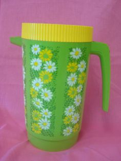 water pitcher from the 70's - how cool.