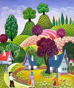 """""""Good Day, Neighbor"""" by Laszlo Koday"""