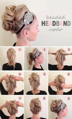 Algo sencillo para el peinado diario sin invertir mucho tiempo!
