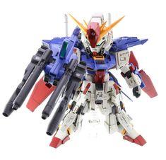 Custom Build: SD x HG ZZ Gundam - Gundam Kits Collection News and Reviews