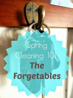 Organizing Life with Less: Spring Cleaning 101: The Forgetables