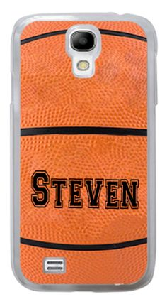 CUTE PERSONALIZED SAMSUNG GALAXY S3 or S4 BASKETBALL CASE #Samsung
