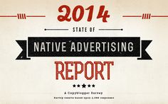 Copyblogger's 2014 State of Native Advertising Report