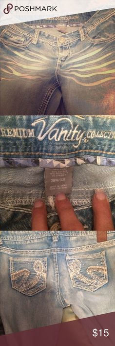 Vanity Jeans Super cute barley worn from a smoke free home Vanity Jeans Boot Cut