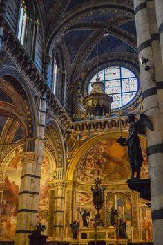 Interior de la Catedral de Siena (Siena - Italy)
