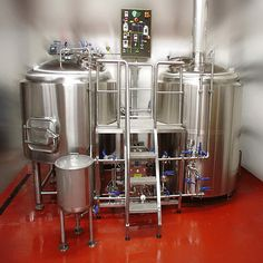 customized industrial beer brewing equipment for sale Mash system, it is the most important part of beer brewery equipment. The brewhouse is the beating heart of brewing operation. Brewery Restaurant, Home Brewery, Beer Brewery, Home Brewing Beer, Brewing Recipes, Beer Recipes, Home Brewing Equipment, Brewery Equipment For Sale, Craft Beer