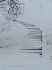 Stairs to Snowhere Summer Campaign, World Best Photos, Cool Photos, Stairs, Photography, Outdoor, Outdoors, Stairway, Photograph