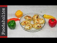 Πατάτες γεμιστές με κοτόπουλο και τυρί (Baked potato) | foodaholics - YouTube Baked Potato, Cooking Recipes, Stuffed Peppers, Baking, Vegetables, Ethnic Recipes, Greek, Food, Youtube