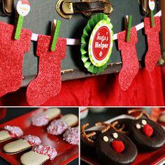 Holly Jolly Christmas Party | | Kara's Party IdeasKara's Party Ideas