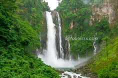Maria Cristina Falls in Iligan City, Lanao del Norte, Philippines. Photo by Marcos Detourist.