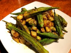 This is a tasty meal that also has some great health benefits. I love okra for many reasons, and one of them being it's great for blood sugar levels. The turmeric in this dish is also fantastic for it, too. I hope you give this dish a try. Bean Recipes, Potato Recipes, Vegetable Recipes, Okra Recipes, Lentil Recipes, Avocado Recipes, Noodle Recipes, Fudge Recipes, Pudding Recipes