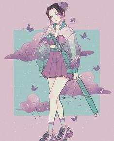 Anime Angel, Anime Demon, Manga Anime, Demon Slayer, Slayer Anime, Fanart, Kawaii Girl, Animes Wallpapers, Anime Art Girl