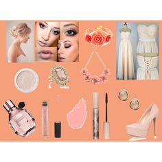 """Selene Black """"Bridemaid"""" by night-elves on Polyvore featuring Mode, Jessica Simpson, Forever New, Oasis, Bare Escentuals, Paul & Joe, Bobbi Brown Cosmetics and Forever 21"""