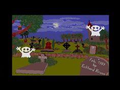 Grusel Demo by Kruse, Eckhard, 1987 | Atari ST | 1080p/50fps - YouTube