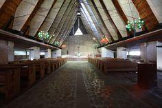 carlo con edoardo gellner / chiesa di nostra signora del cadore, corte di cadore belluno