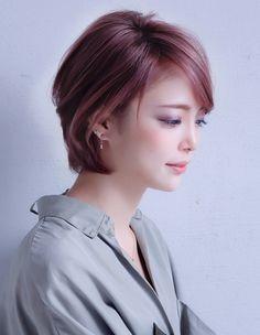 大人美人ショート(NA-61)   ヘアカタログ・髪型・ヘアスタイル AFLOAT(アフロート)表参道・銀座・名古屋の美容室・美容院
