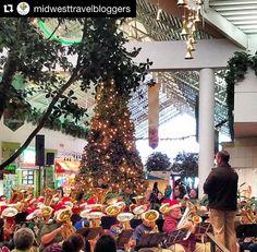 Tuba Christmas at the Southbridge Mall in #MasonCityIA