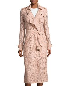 Wrap-Front+Macrame+Lace+Trench+Coat+by+Burberry+at+Bergdorf+Goodman.