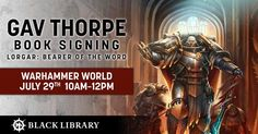 If you're a Black Library fan then you'll want to join us at Warhammer World on July 29th for TWO book signing sessions!  Gav Thorpe and John French will be joining us, find out more here: https://warhammerworld.games-workshop.com/july-29th-book-signings/ #fashion #style #stylish #love #me #cute #photooftheday #nails #hair #beauty #beautiful #design #model #dress #shoes #heels #styles #outfit #purse #jewelry #shopping #glam #cheerfriends #bestfriends #cheer #friends #indianapolis…