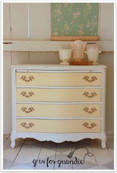 Buttermilk Yellow Dresser