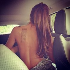 angelina jolie seem tattoo