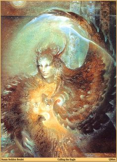 Susan Seddon Boulet- One of my all time favorite artists. I love her layering and her images of nature and the female form. Absolutely beautiful.