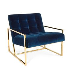 GOLDFINGER LOUNGE CHAIR | Jonathan Adler | £1.950,00 | available in oyster colour