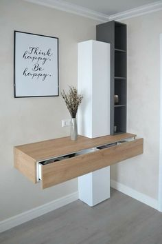 Kleiner Kleiderschrank - Dekoration Selber Machen - Hints for Women Furniture Design, Trendy Bedroom, Bedroom Design, Furniture, Shelves, Bedroom Dressers, Interior, Home Furniture, House Interior