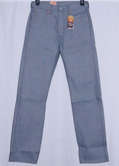 71907e02 LEVIS Jeans Mens 30X34 NEW NWT 501 Straight Leg Shrink To Fit Denim Pants  30 34