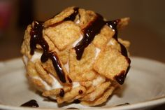 Fried Ice Cream- the EASY way!