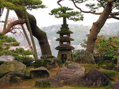 Lantern Garden, Japan.