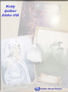 This week there is no reason to stay in doubt or in the doldrums, the universe is going to conspire against that shit. Open to the flow a little wider this week, amazing lights!! And get the guidance that is going to make soul-sense, at the link below: http://supersecretpowers.com/weekly-guidance-oct-10th-magick-afoot/
