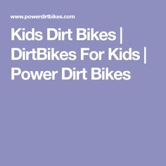 Coolster Qg 210 Kids Motocross Dirt Bike Dirtbikes Pinterest
