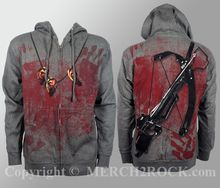 The Walking Dead Zipup Hoodie - Crossbow Ears