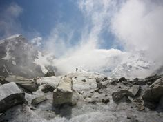 Bezengi Glacier, Russia