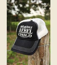 ReBEL CHild TrUCker Cap {junk gypsy co} #rebel #merlehaggard