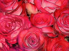 Bed of Roses by DigitalHyperGFX