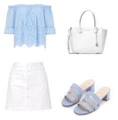 """""""Untitled #19"""" by delaineywoollard on Polyvore featuring Steve J & Yoni P and Michael Kors"""