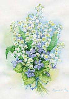 Коллекция картинок: Цвети и дети Ольги Дроздовой