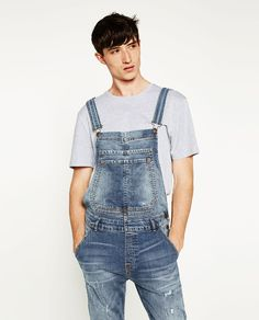 Zara Denim Baisx Dungaress With Pockets To Rank First Among Similar Products Women's Clothing Clothes, Shoes & Accessories