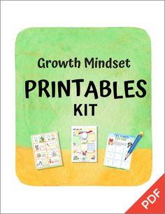 Growth Mindset Printables Kit (PDF) – Big Life Journal