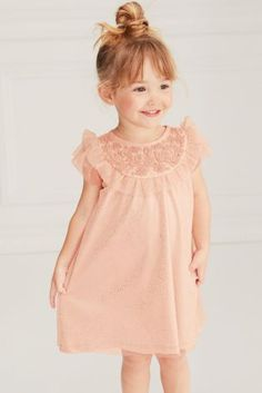 Buy Pink Yoke Party Dress (3mths-6yrs) online today at Next: United States of America