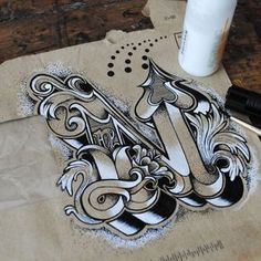 A ammazing lettering work on everyday objects by Rob Draper Oh yea im learning how this is done ASAP!
