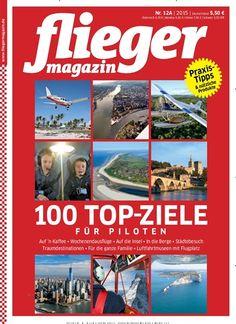 100 Top-Ziele für Piloten. Gefunden in: fliegermagazin Sonderheft - epaper, Nr. 12/2015