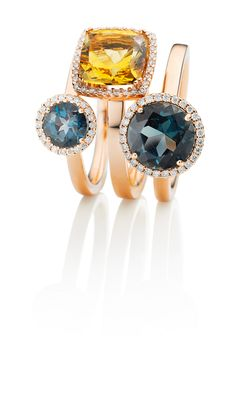 Ring, Gold, Gemstone. The essence of CAPOLAVORO'S exquisite coloured gemstones is their exuberant vitality and their very intimate appeal. They are wonderfully expressive oases of intensive colour that touch the soul with their radiance and – like a special perfume – bestow on the wearer a fine bouquet of elegance.
