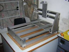 Metal CnC Frame  DIY  Machine Design                                                                                           More