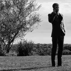From hugoboss - Time to dream. #ClementChabernaud against the backdrop of Montauk New York #thisisboss #behindthescenes