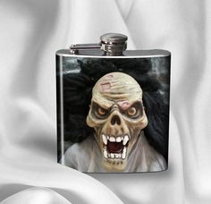 Halloween Mask Hip Flask  Halloween Costume Contest by AGiftToLove, $14.99