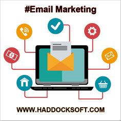 #Email marketing or direct #marketing services are used to directly #communicate with the #clients and #customers.. For more information visit link: http://www.haddocksoft.com/search-engine-optimization