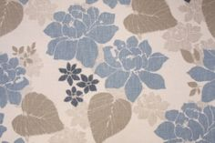 Floral/Vine Prints :: Richloom Gillian Printed Cotton Decorator Fabric in Chambray $11.95 per yard - Fabric Guru.com: Fabric, Discount Fabric, Upholstery Fabric, Drapery Fabric, Fabric Remnants, wholesale fabric, fabrics, fabricguru, fabricguru.com, Waverly, P. Kaufmann, Schumacher, Robert Allen, Bloomcraft, Laura Ashley, Kravet, Greeff